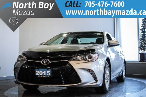 Certified Pre-Owned 2015 Toyota Camry 2.5L 4-Cylinder Engine +  Navigation + Heated Front Seats FWD 4dr Car