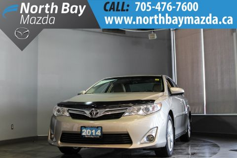 Pre-Owned 2014 Toyota Camry XLE with Ivory Leather, Sunroof, Heated Seats