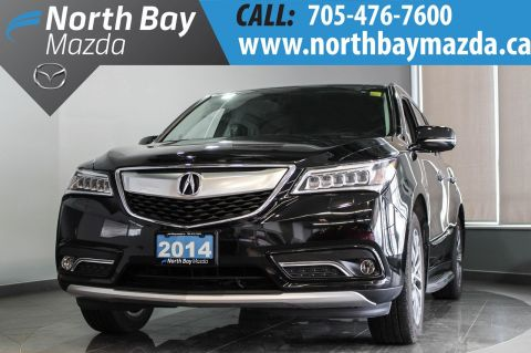 Certified Pre-Owned 2014 Acura MDX with Nav, Leather, Memory Seat, Power Liftgate With Navigation & AWD