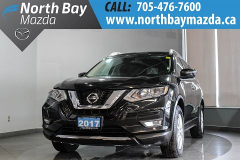 Pre-Owned 2017 Nissan Rogue AWD with Heated Seats, Bluetooth, Power Seat, Cruise