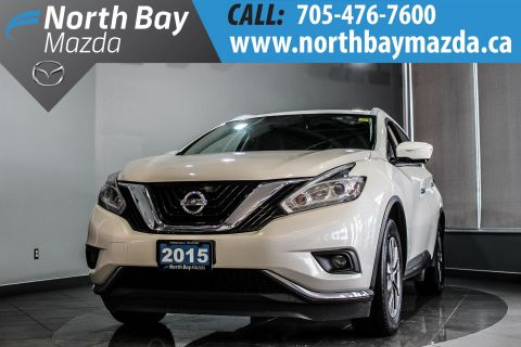 Pre-Owned 2015 Nissan Murano SL AWD with Leather and Panoramic Sunroof AWD