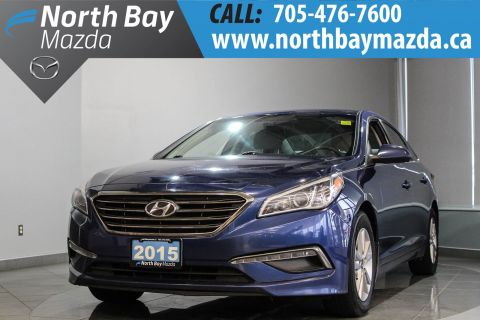 Pre-Owned 2015 Hyundai Sonata GL with Bluetooth, Heated Seats, Auto Headlights