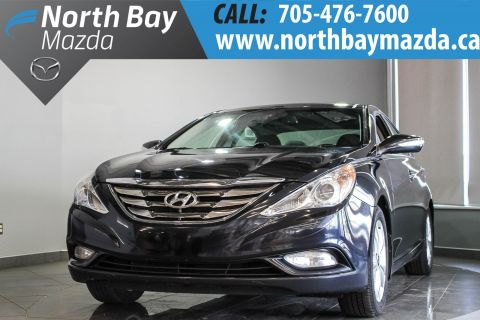 Pre-Owned 2012 Hyundai Sonata Limited with Leather, Sunroof, Bluetooth, Heated Seats FWD 4dr Car