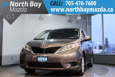 Pre-Owned 2014 Toyota Sienna LE with AWD, Cloth Interior, Bluetooth, Bucket Seats