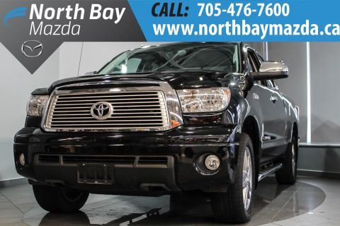 Certified Pre-Owned 2013 Toyota Tundra Limited IFORCE 5.7L V8 + Leather Interior + Navigation 4WD