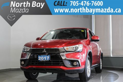 Pre-Owned 2017 Mitsubishi RVR SE AWD with Heated Seats, Bluetooth, Cruise Control