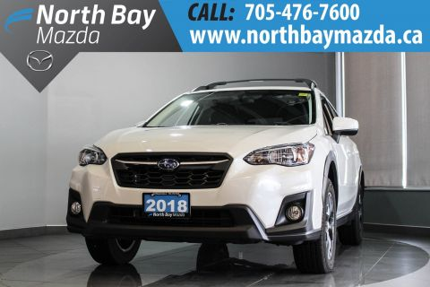 Pre-Owned 2018 Subaru Crosstrek Touring with AWD, Manual Transmission, Heated Seats