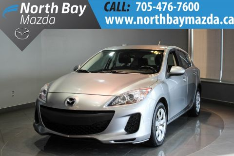 Certified Pre-Owned 2013 Mazda3 Sport GX USB Port + Cloth Interior + Keyless Entry FWD Hatchback