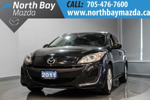 Certified Pre-Owned 2011 Mazda3 Sport GX 5 Speed Manual + 2.0L Engine + Cloth Interior FWD Hatchback