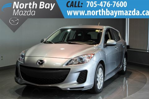 Certified Pre-Owned 2013 Mazda3 Sport GS-SKY Heated Front Seats + Alloy Wheels + Automatic Headlights FWD Hatchback