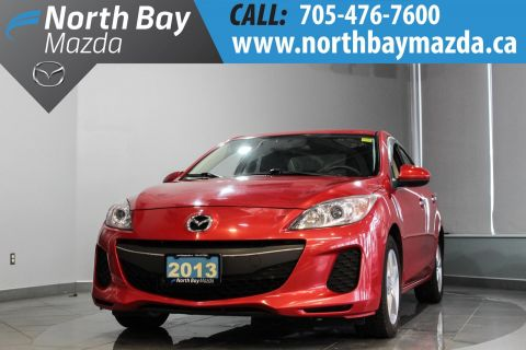 Pre-Owned 2013 Mazda3 GX with Auto Transmission, A/C, Cruise Control