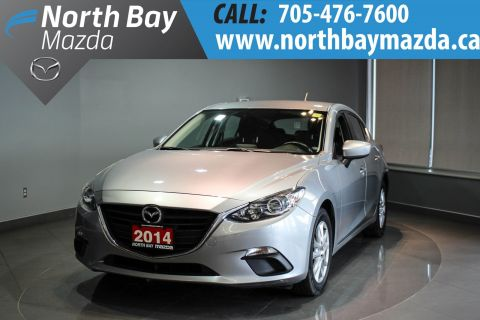 Certified Pre-Owned 2014 Mazda3 GS-SKY Heated Front Seats + Back-Up Camera + Alloy Wheels FWD Hatchback