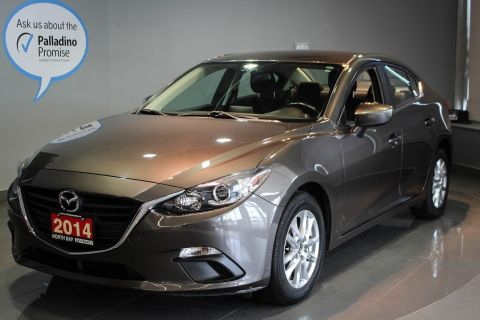 Certified Pre-Owned 2014 Mazda3 GS  Heated Front Seats + Back-Up Camera + Bluetooth FWD 4dr Car