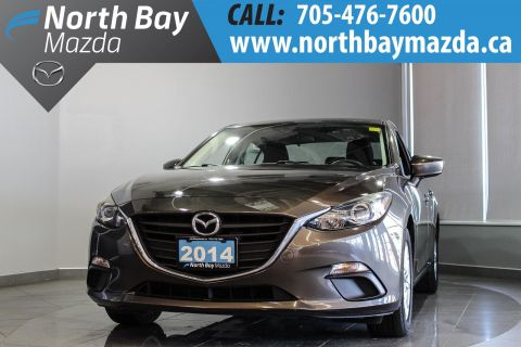Pre-Owned 2014 Mazda3 GS-SKY With Manual Transmission, Bluetooth, Heated Seats