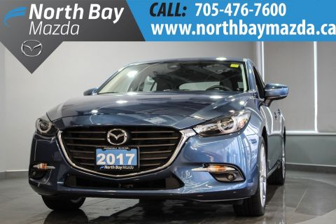Pre-Owned 2017 Mazda3 GT NEW NON-CURRENT FWD Hatchback