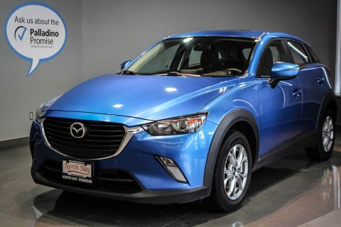 Certified Pre-Owned 2016 Mazda CX-3 GS Heated Front Seats + Back-Up Camera + Leatherette Upholstery  Sport Utility