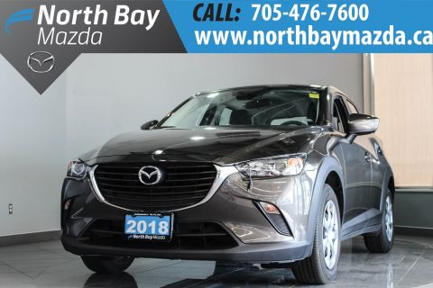 Pre-Owned 2018 Mazda CX-3 GX Manual with Fog Lights, Bluetooth, Touch Screen Infotainment FWD Sport Utility