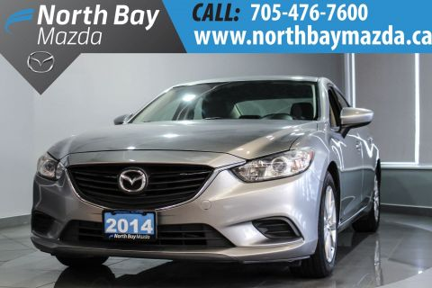 Certified Pre-Owned 2014 Mazda6 GX Heated Front Seats + Alloy Wheels + Bluetooth FWD 4dr Car