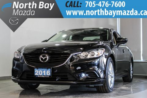 Certified Pre-Owned 2016 Mazda6 GS Leather Interior + Dual Climate Control + Heated Front Seats FWD 4dr Car