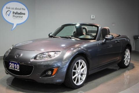 Certified Pre-Owned 2010 Mazda MX5 Miata Elegant Simplicity + Grin-Inducing Performance RWD Convertible