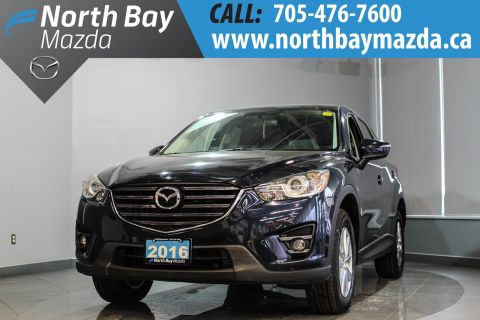 Pre-Owned 2016 Mazda CX-5 GS with Heated Seats, Sunroof, Bluetooth FWD Sport Utility