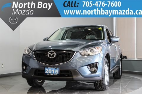 Pre-Owned 2015 Mazda CX-5 GS AWD with Heated Seats, Bluetooth, New Brakes! AWD