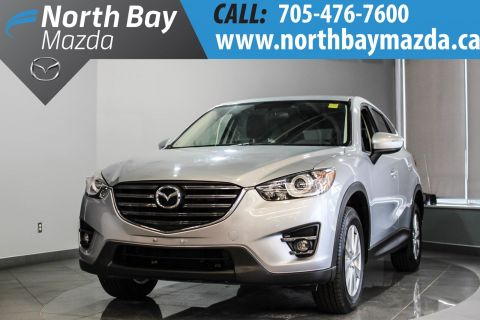 Pre-Owned 2016 Mazda CX-5 GS With AWD, Sunroof, Bluetooth AWD