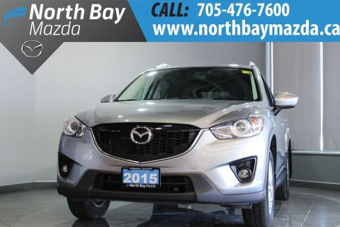 Certified Pre-Owned 2015 Mazda CX-5 GS AWD with Bluetooth, Push Button, Sunroof AWD