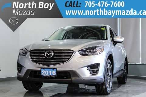 Pre-Owned 2016 Mazda CX-5 GT NEW NON-CURRENT INVENTORY With Navigation & AWD