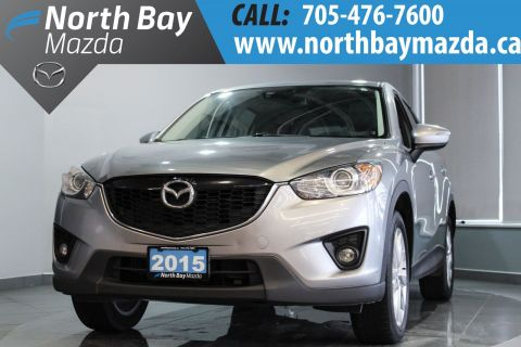 Certified Pre-Owned 2015 Mazda CX-5 GT AWD with Bluetooth, Fog Lights, Leather AWD