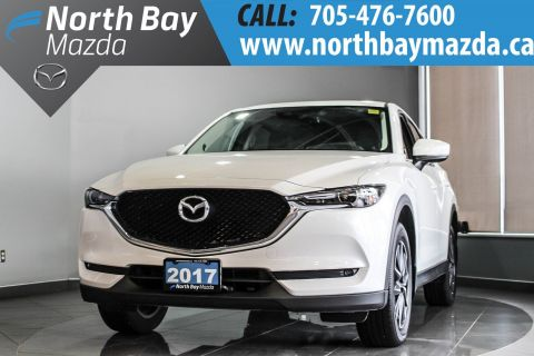 Pre-Owned 2017 Mazda CX-5 GT AWD with Bluetooth, Nav, Memory Seat, Leather With Navigation & AWD