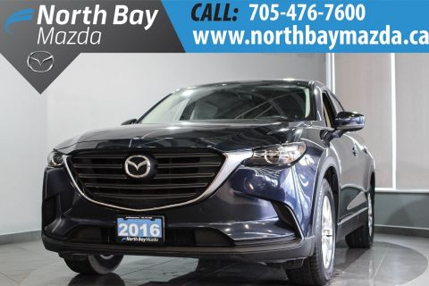 Certified Pre-Owned 2016 Mazda CX-9 GS AWD with Bluetooth, Push Button Start, 7 Passenger AWD
