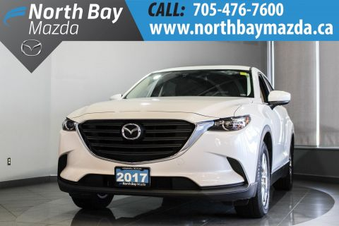 Pre-Owned 2017 Mazda CX-9 GS Lease Return with Heated Seats, Tri-Zone Climate Control AWD