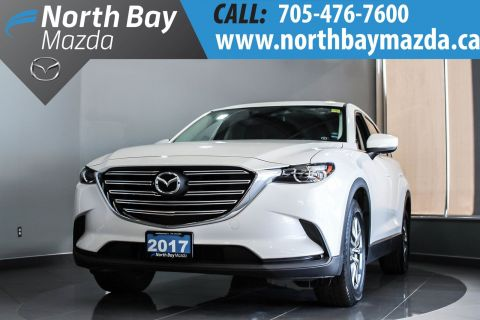 Pre-Owned 2017 Mazda CX-9 GS-L New Non Current with Leather, Nav, Sunroof AWD