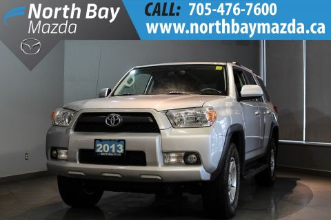 Pre-Owned 2013 Toyota 4Runner SR5 with 4WD, Bluetooth and New Brakes!