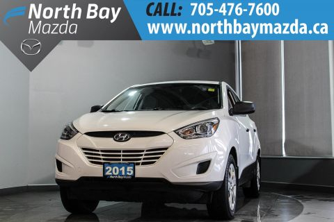 Pre-Owned 2015 Hyundai Tuscon GL With AWD, Bluetooth, Heated Seats