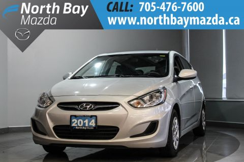 Pre-Owned 2014 Hyundai Accent GLS Manual with Winter Tires, Heated Seats FWD Hatchback