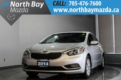 Pre-Owned 2014 Kia Forte LX with Heated Seats, as low as $65 Weekly OAC! FWD 4dr Car