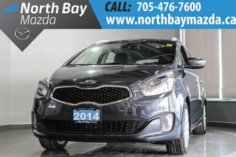 Certified Pre-Owned 2014 Kia Rondo Heated Leather Seats + Heated Steering Wheel + Alloy Wheels FWD Station Wagon