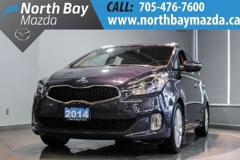 Certified Pre-Owned 2014 Kia Rondo Heated Front Seats + Heated Steering Wheel + Alloy Wheels FWD Station Wagon