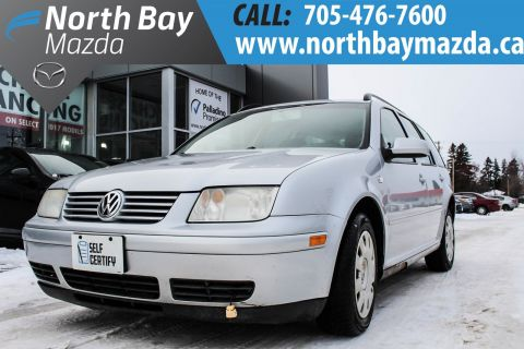 Pre-Owned 2006 Volkswagen Jetta Self Certify FWD Station Wagon