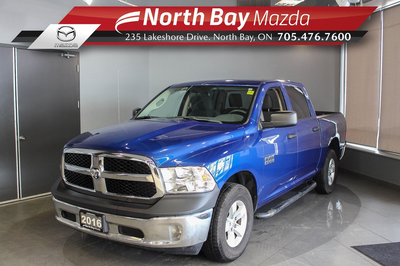 Pre-Owned 2016 Dodge RAM 1500 ST - Virtual Tour & Curbside Delivery Available!
