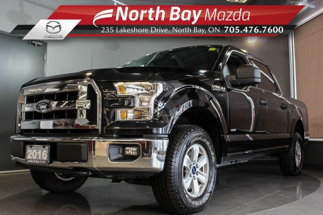 Pre-Owned 2016 Ford F-150 XLT 4X4 Crew Cab V6 EcoBoost with Bluetooth, Cruise