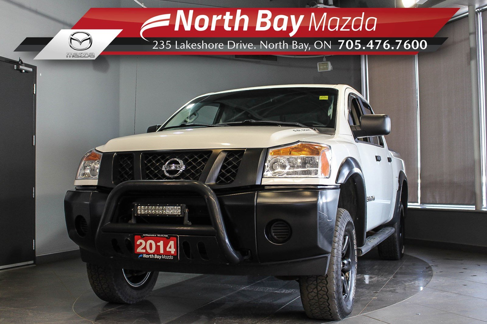 Pre-Owned 2014 Nissan Titan S 4X4 with Cruise Control, New Tires!