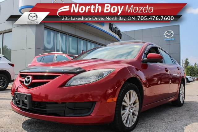 Pre-Owned 2010 Mazda6 Mazda6 GS Self Certify with Sunroof, Cruise Control, Cloth Interior!