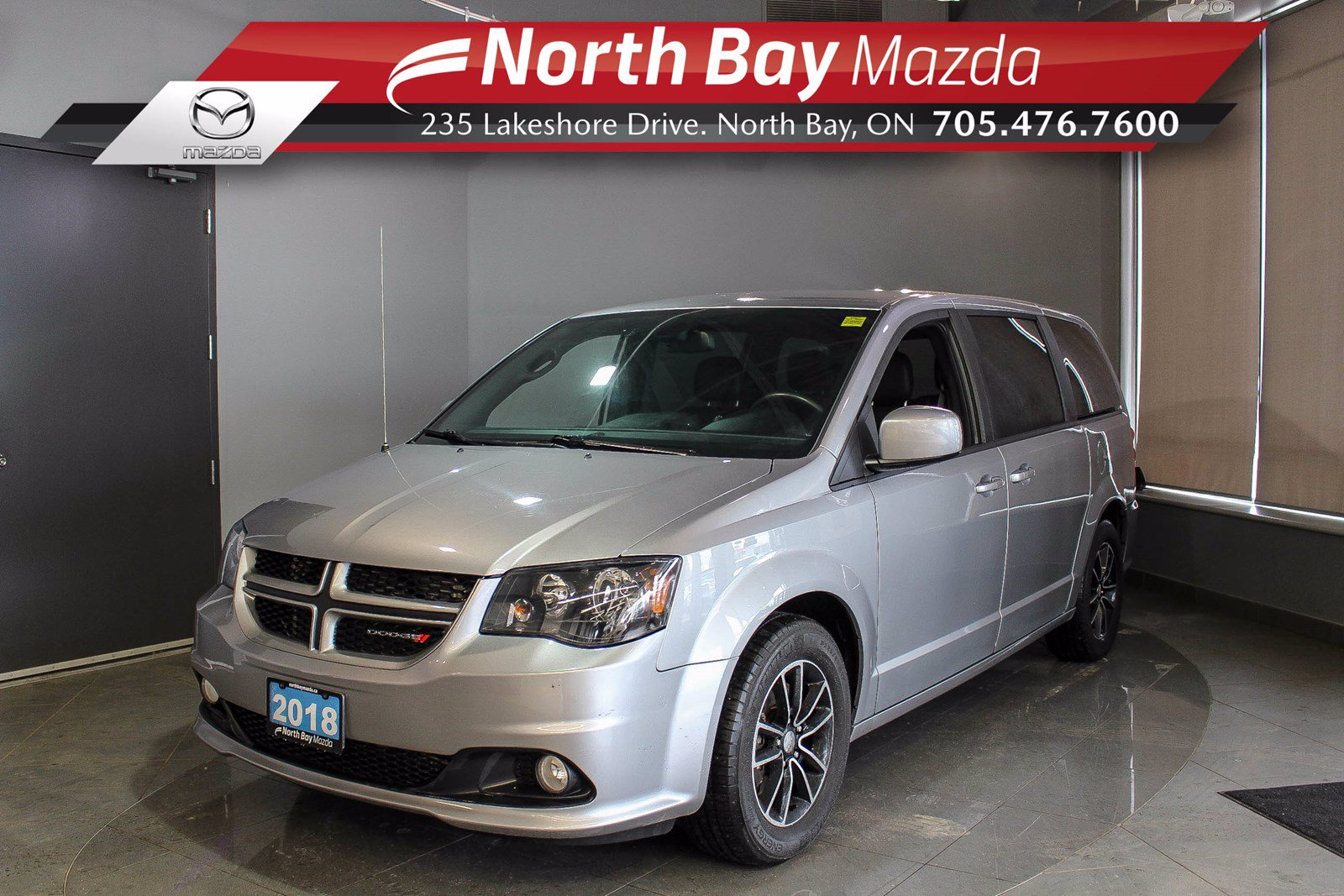 Pre-Owned 2018 Dodge Grand Caravan GT - Virtual Tour & Curbside Delivery Available!