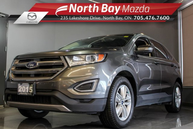 Pre-Owned 2015 Ford Edge SEL AWD with Bluetooth, Heated Seats, Parking Sensors