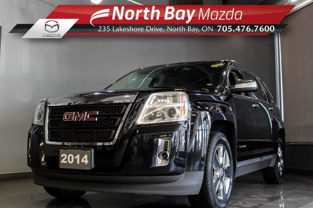 Pre-Owned 2014 GMC Terrain SLE FWD with Sunroof, Bluetooth, Heated Seats, Cruise!
