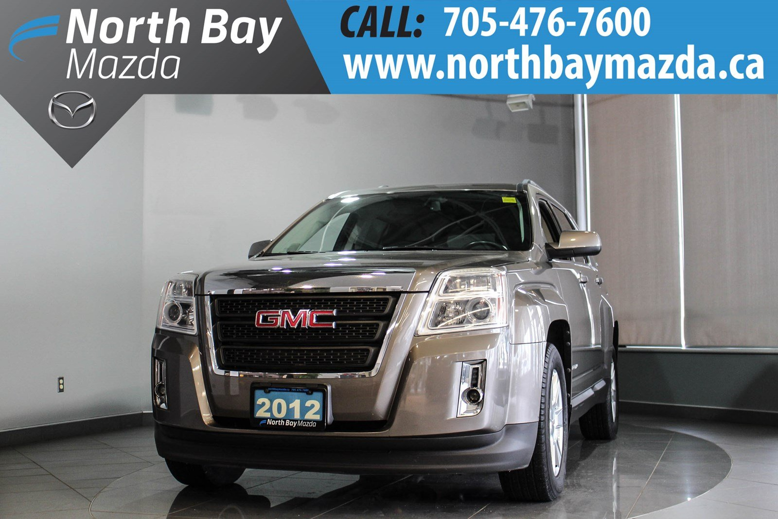 Pre-Owned 2012 GMC Terrain SLE-2 FWD with Heated Seats, New Winter