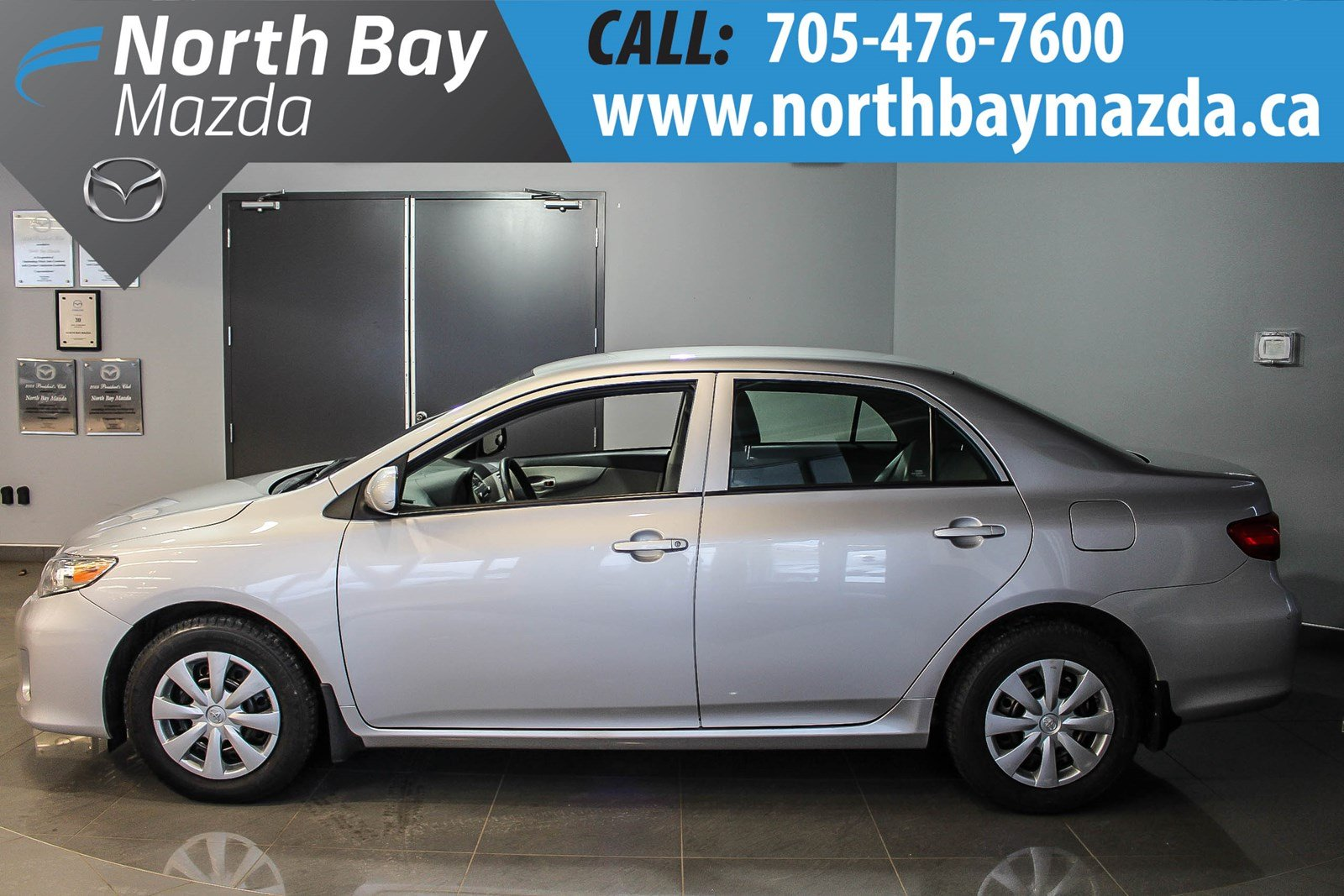 Pre-Owned 2011 Toyota Corolla S Manual Transmission with Winter and Summer  Tires